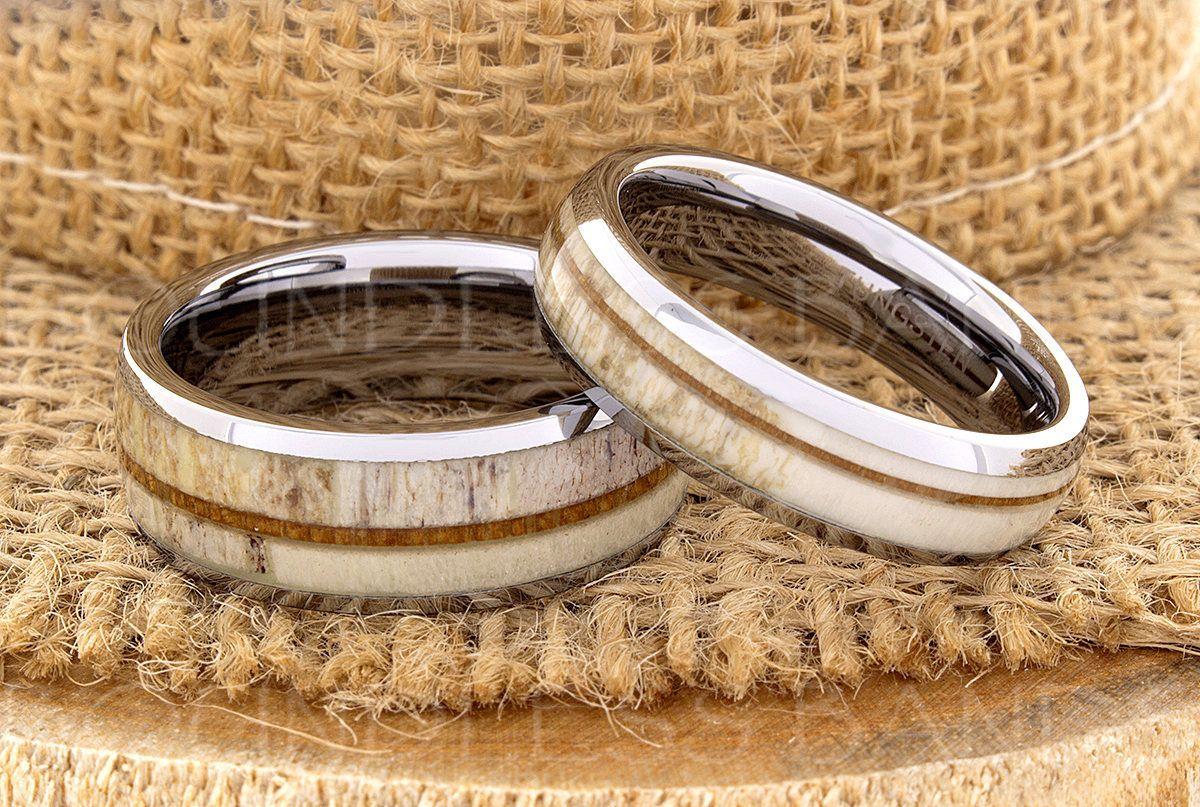 Tungsten Ring Tungsten Wedding Ring Band Men Women Wedding Band