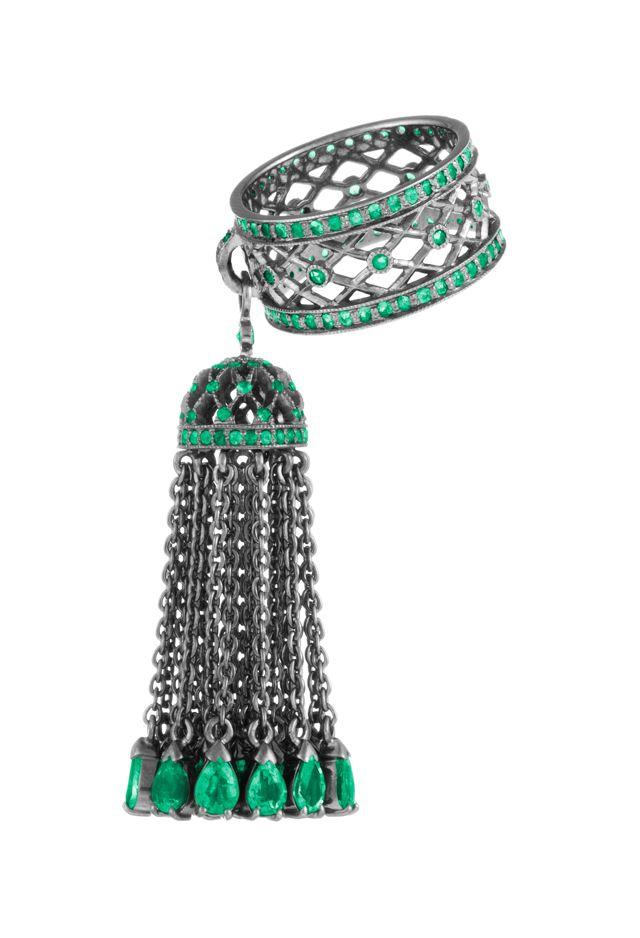 Объект желания: Кружевное кольцо с кисточкой Yana (фото 1 ...