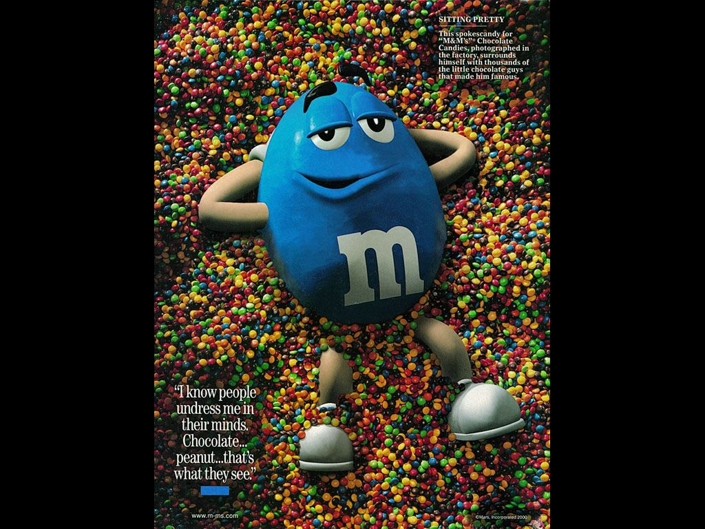 m&m print advertising - Buscar con Google