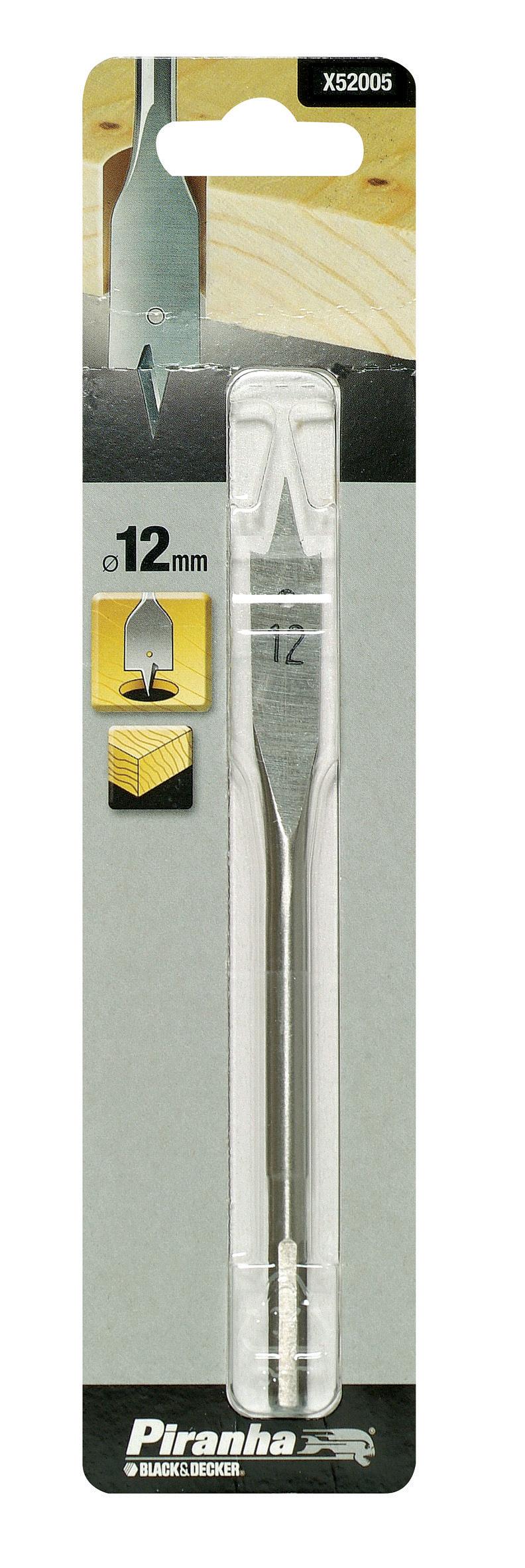 PIRANHA X52005 PUNTA PER LEGNO A TESTA PIATTA MM. 12 http://www.decariashop.it/accessori-per-elettroutensili/20727-piranha-x52005-punta-per-legno-a-testa-piatta-mm-12.html
