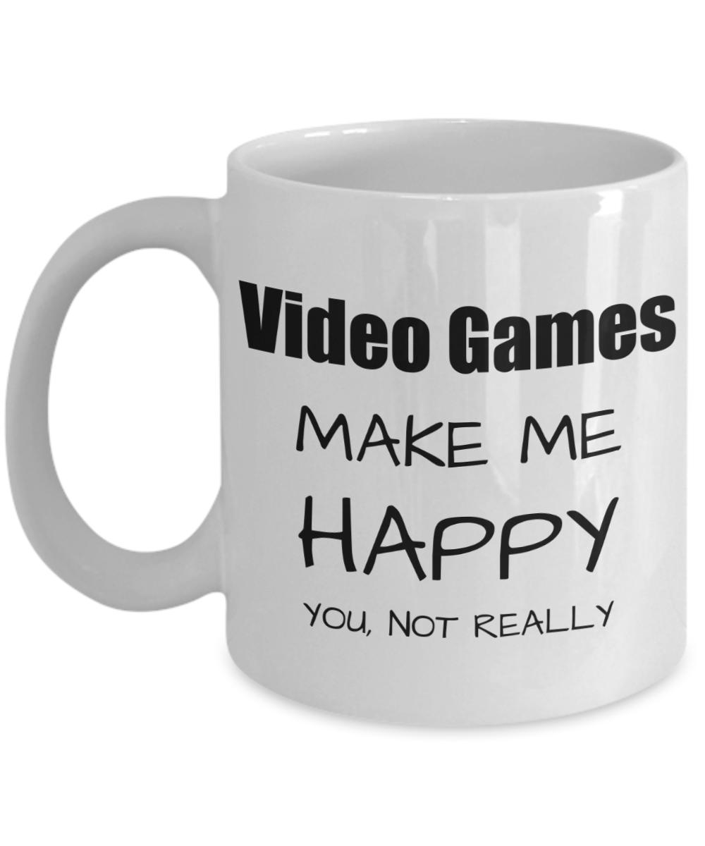 Video Games Lover Gift Funny Gaming Fan Mug Hobby Birthday Gift