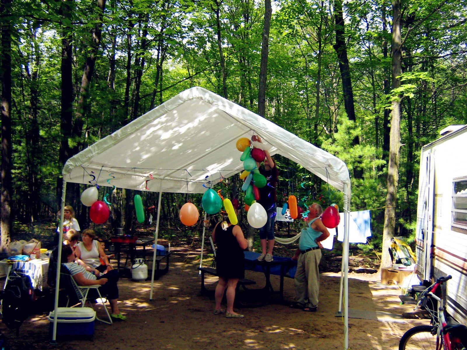 10' x 20' White Party Tent Party tent, Party tents for