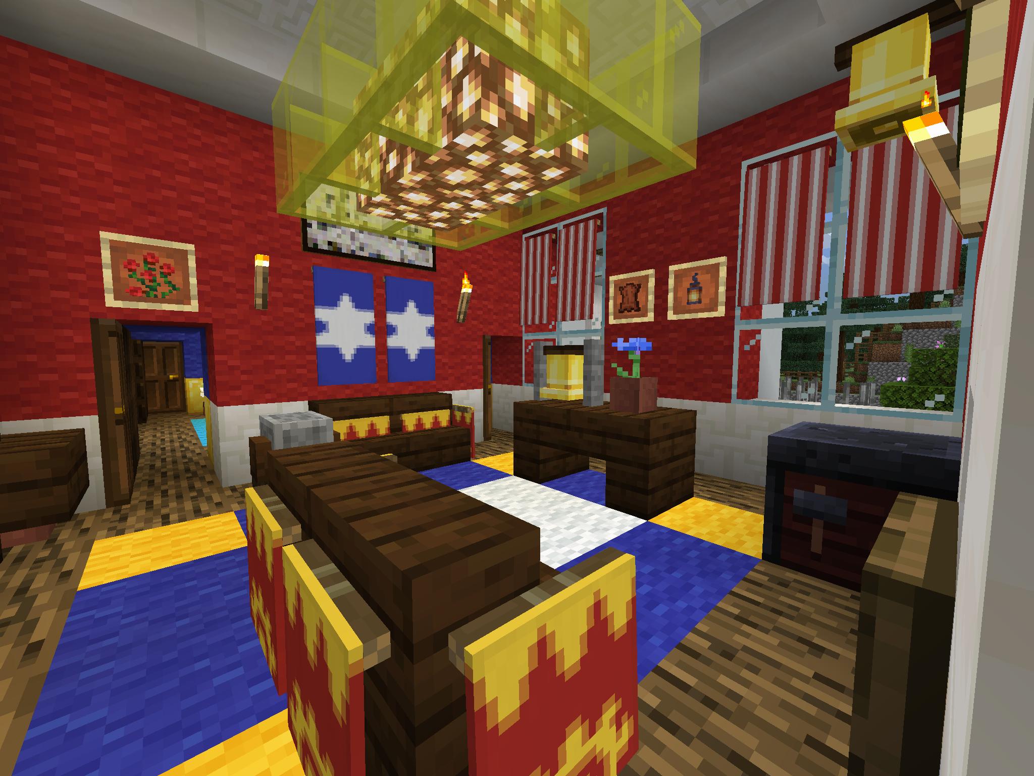 Minecraft bedroom (With images) | Minecraft bedroom ... |Minecraft Mansion Inside Bedroom