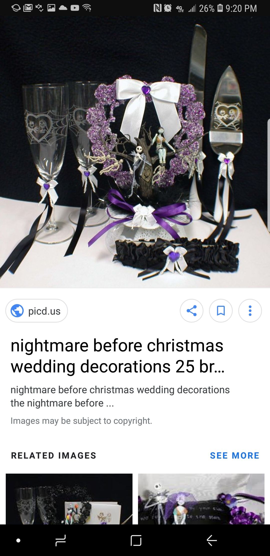 Colorful Nightmare Before Christmas Wedding Decorations Picture ...