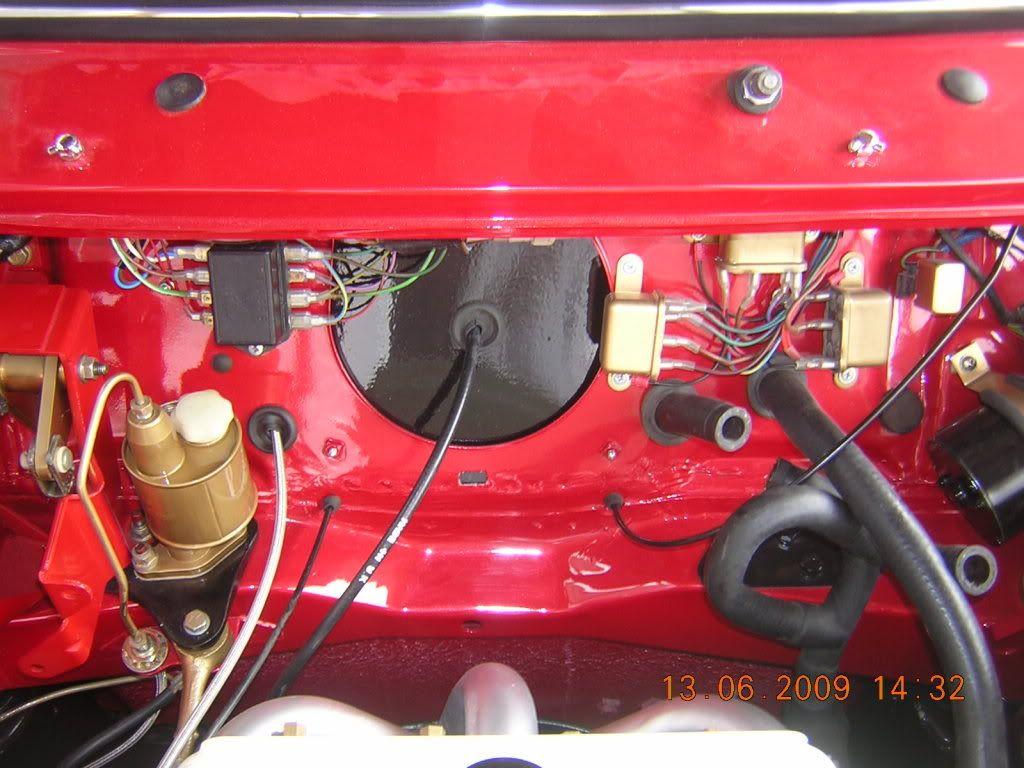 bulkhead sealing plate   VTEC Mini Cooper   Mini morris