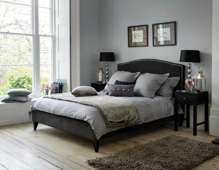 ▷ 1001 + Ideas sobre decoracion de habitación gris Cama gris