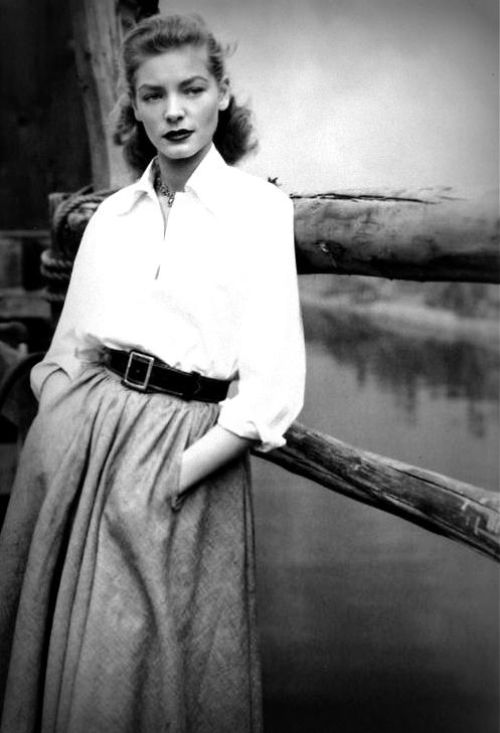 """""""I think your whole life shows in your face and you should be proud of that."""" Lauren Bacall"""