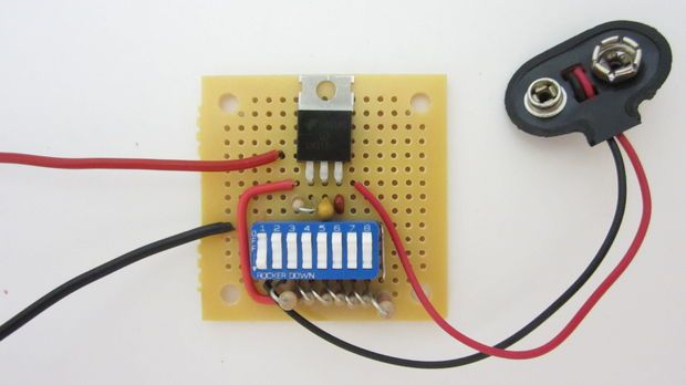 Pocket-Size Power Supply | Arduino, Electronics projects and Tech