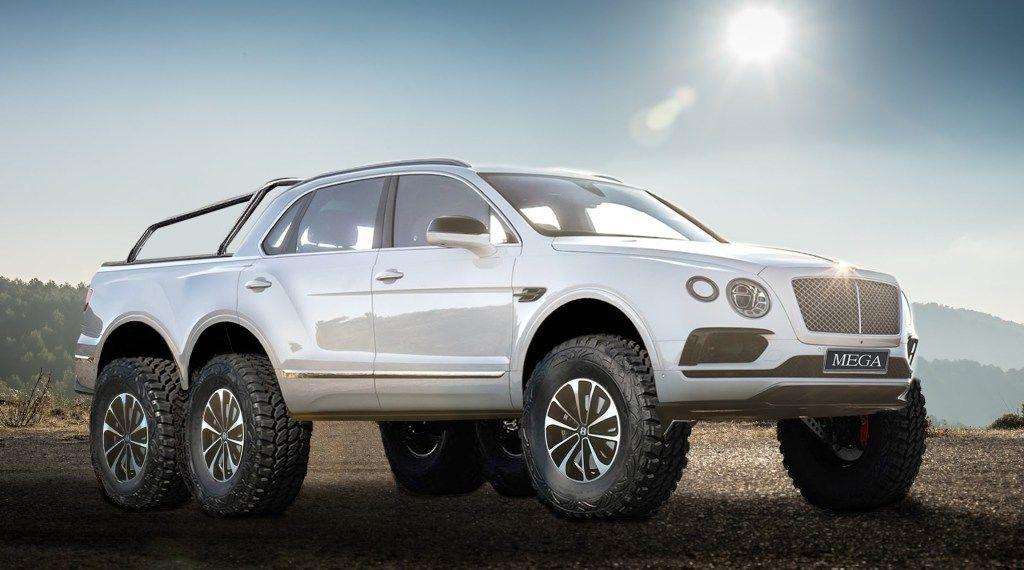 Bentley Bentayga 6x6 Newportconvertible Nce