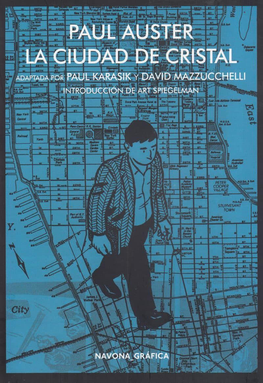 Ciudad De Cristal Novela Gráfica Adaptada Por Paul Karasik Y David Mazzucchelli Paul Auster Introducción Art Spiegelman Tr Paul Auster Books Literature