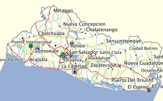 El Salvador Gps Map Garmin El Salvador Gps Map Garmin Gallery Gps Map Garmin Gps Maps Map