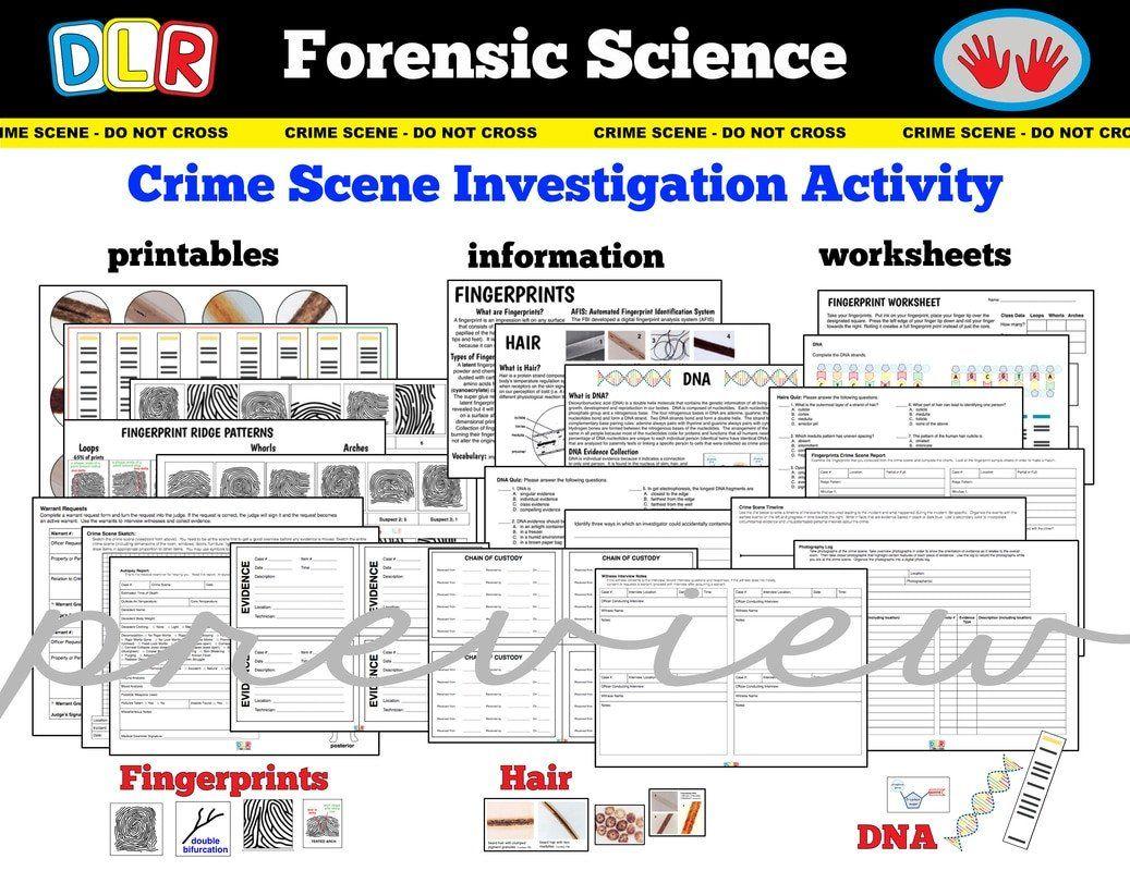 Answers Dna Fingerprinting Worksheet