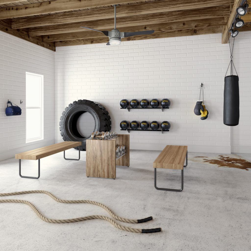 Our Favorite Spaces: The Updated Home Gym