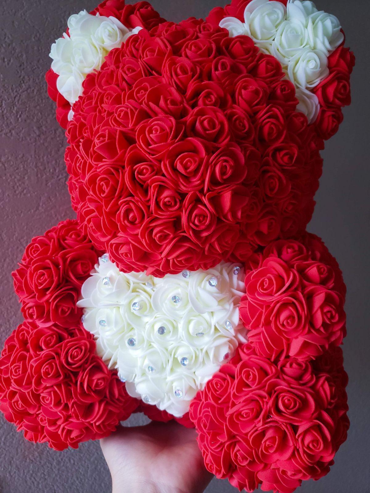 Bear Made Of Roses Singapore