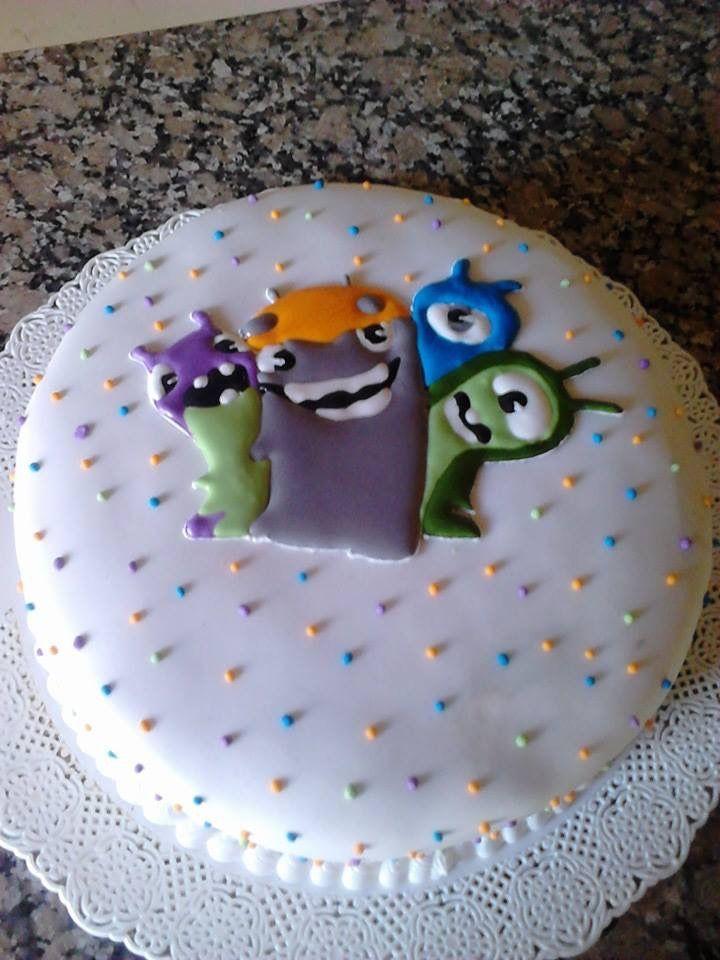 Torta bajoterra estampada