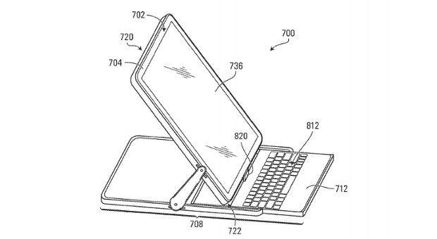 BlackBerry solicita la patente de un sistema de bisagras