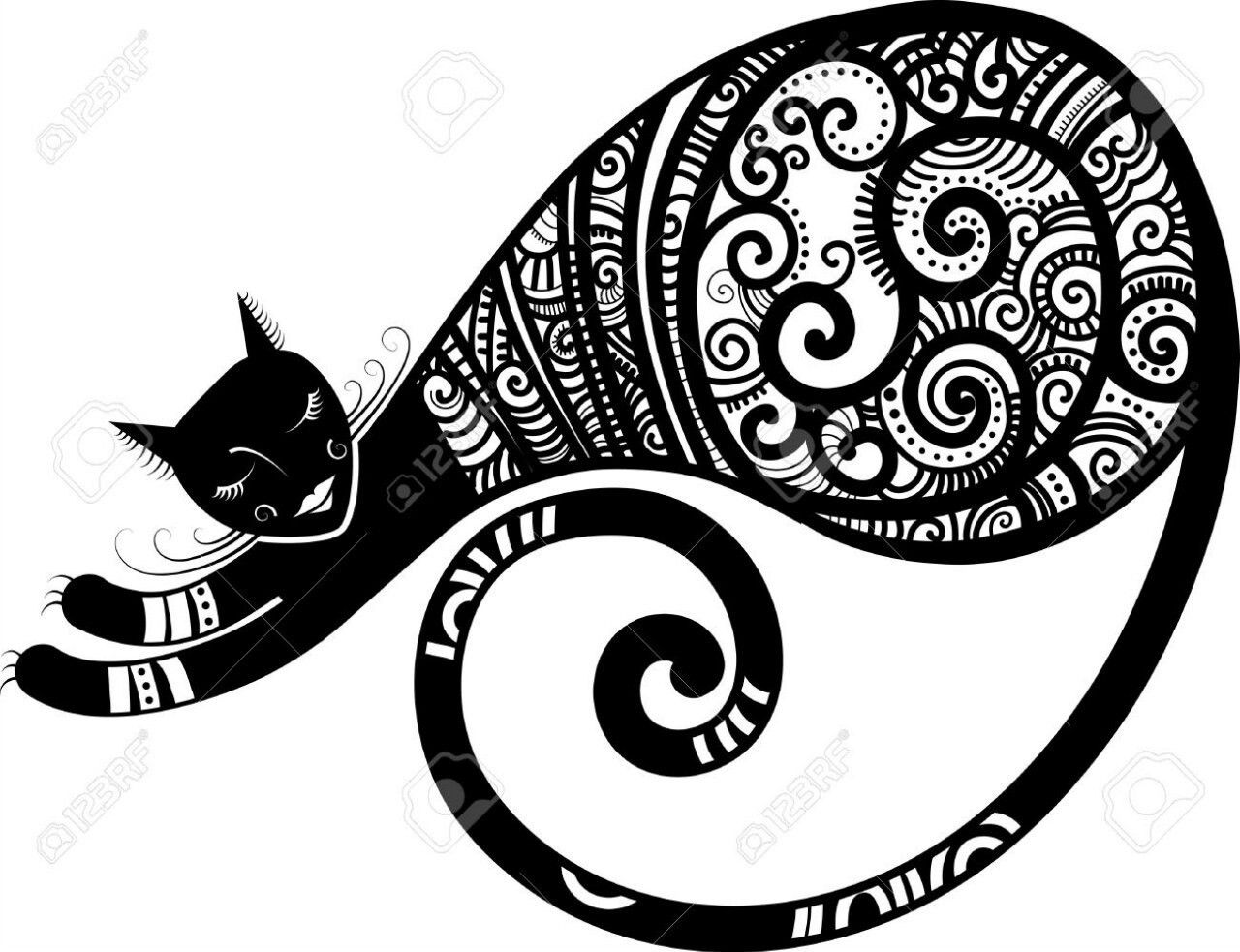 Изображение Кошачий арт от пользователя Карнаух Елена на ...