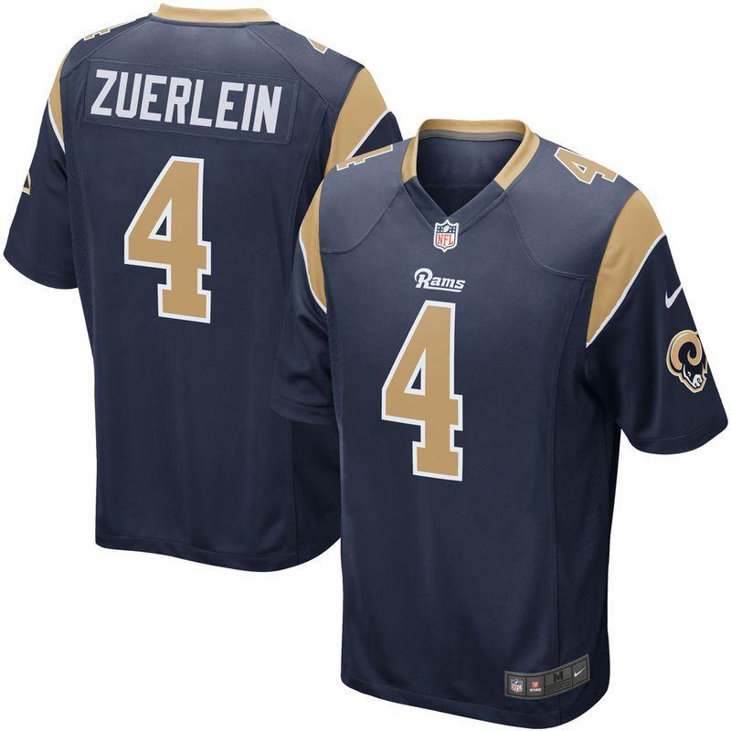Greg Zuerlein Los Angeles Rams Nike Game Jersey - Navy   Nfl ...