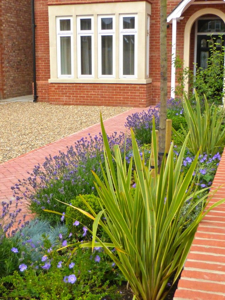 Ealing Front Garden With Planting For A Sunny Aspect Love Yard Landscaping