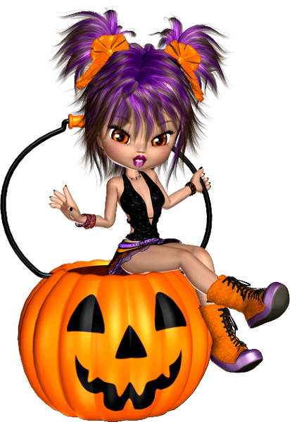 Click here to see a large version in 2020 Halloween doll