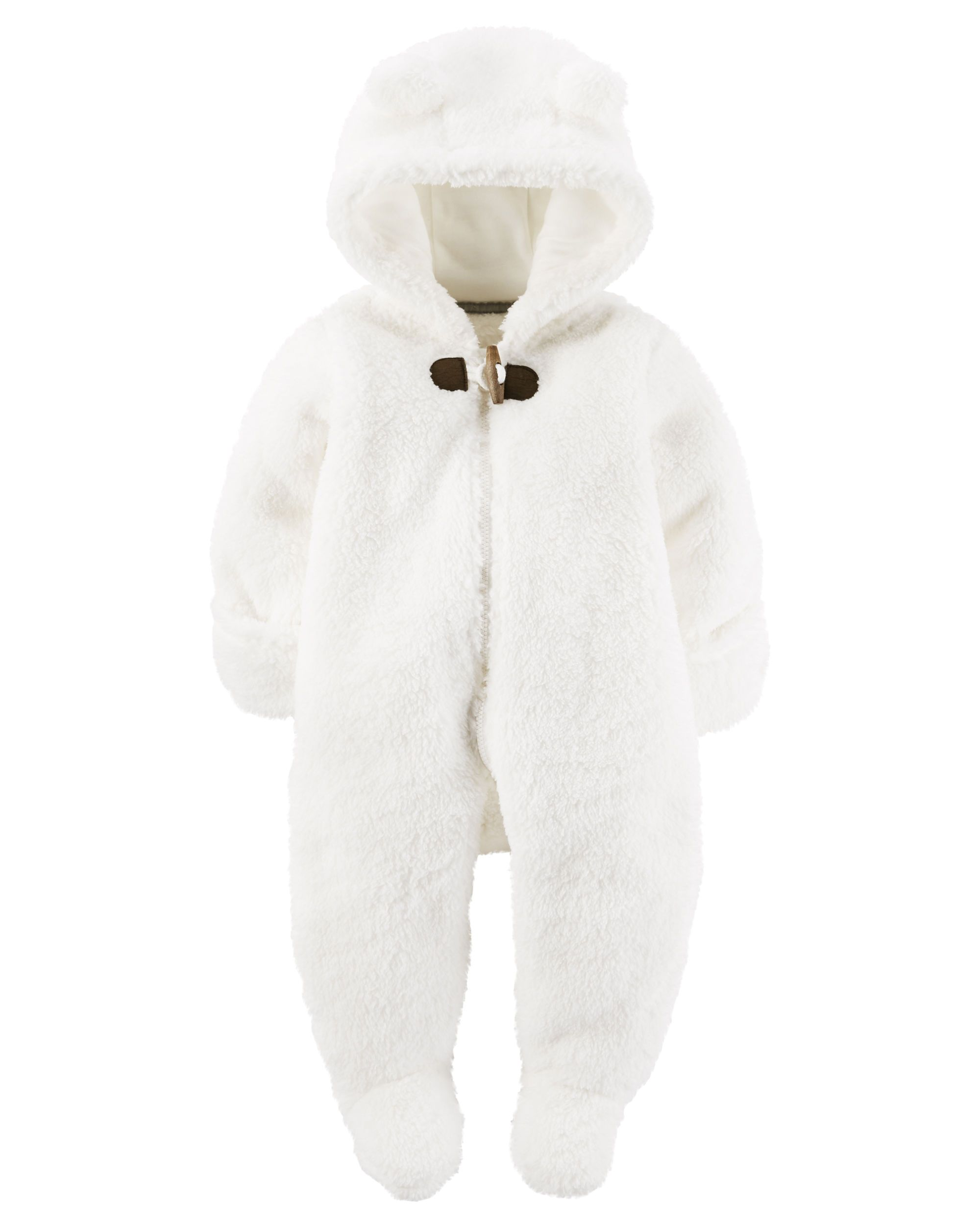 19b97b52d Hooded Sherpa Bunting from Carters.com. Shop clothing & accessories from a  trusted name in kids, toddlers, and baby clothes.