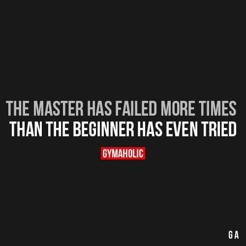 The Master Has Failed More Times Fitness Motivation Quotes Inspirational Quotes Motivational Quotes