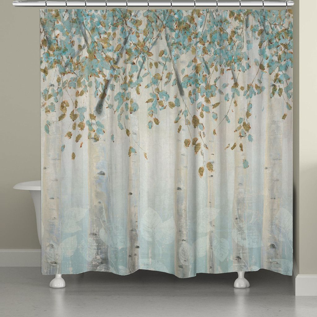 Dream Forest Shower Curtain Laural Home Curtains Shower Curtain