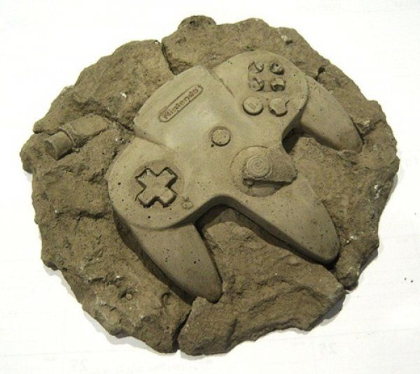Fossilized N64 Controller