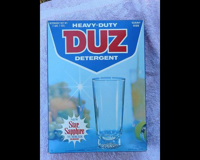 Free Glasses In The Laundry Detergent Laundry Detergent Vintage