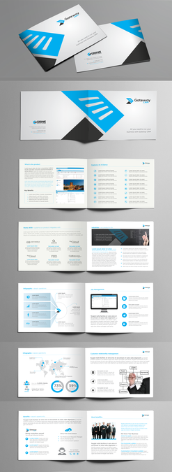 Software Product Brochure  Initial Concept Front Content Page