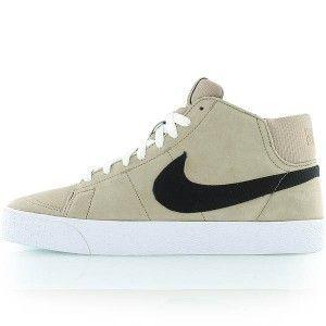 50% off best supplier skate shoes original Chaussures Nike Blazer Mid Suede Vintage Femme kaki ...