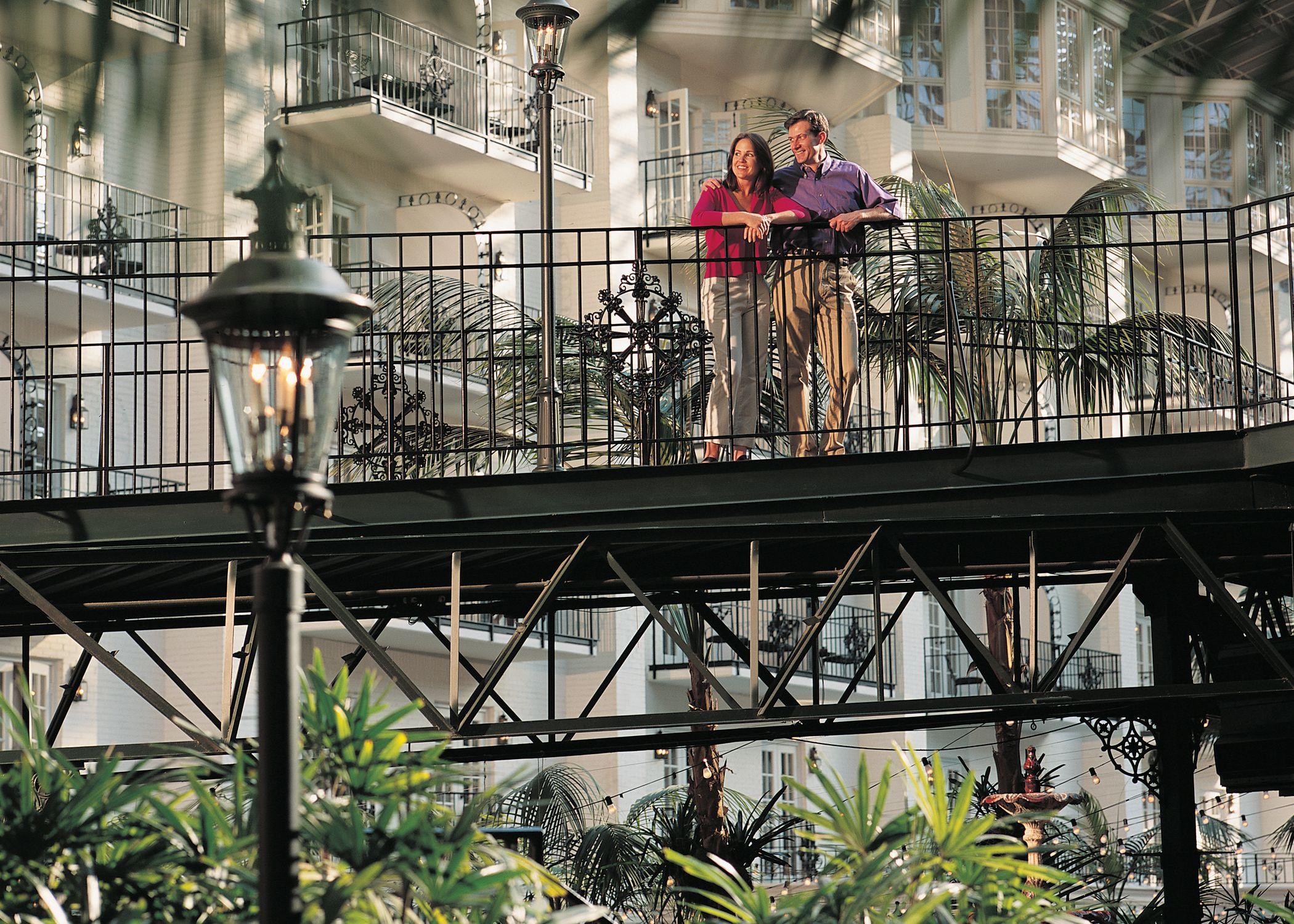 Garden Conservatory Skywalk Gaylord Opryland Resort