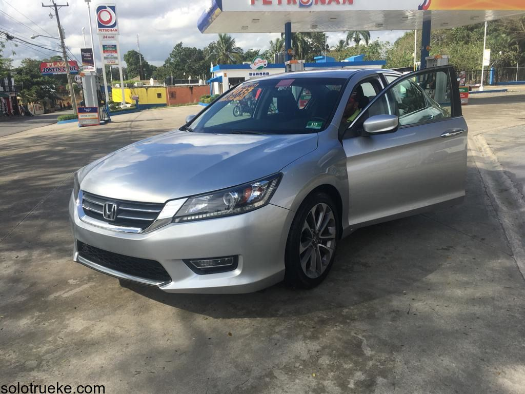 HONDA ACCORD 2013 SPORT Color gris Honda accord, Autos