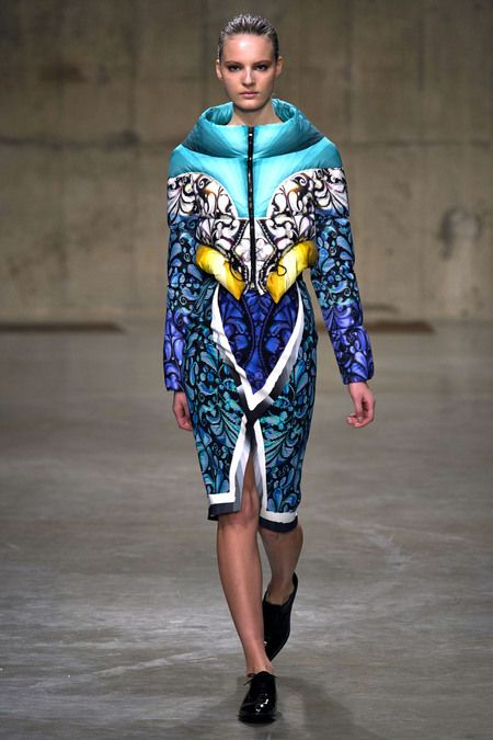 The print...the funnel neck...Peter Pilotto