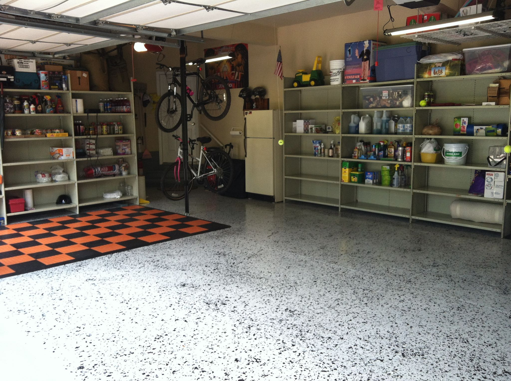 floors on true extension of granite garage our make home pinterest garagefloors welcoming your best images a commercial