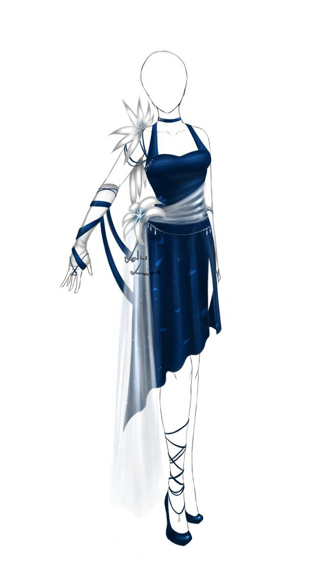 Photo of Outfit design – 61 – closed by LotusLumino on DeviantArt