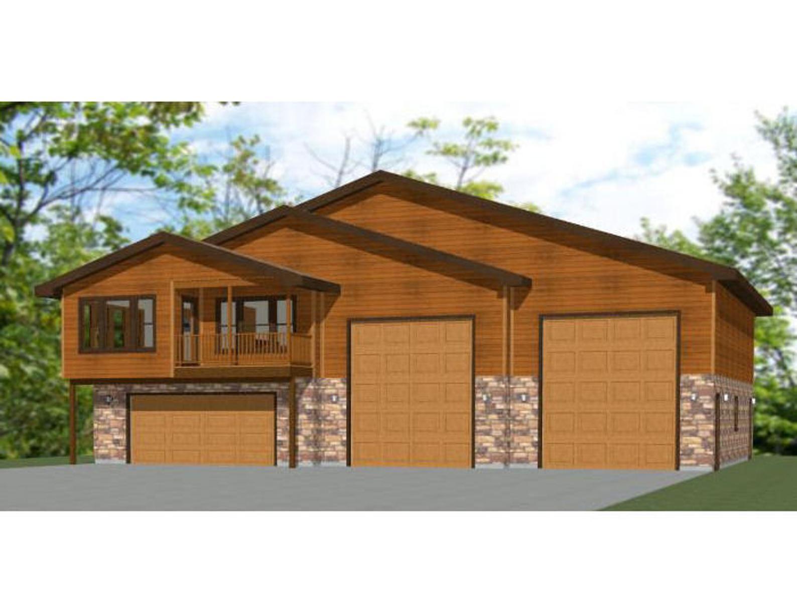 60x50 House 2Bedroom 2.5Bath 1694 sq ft PDF Floor Etsy
