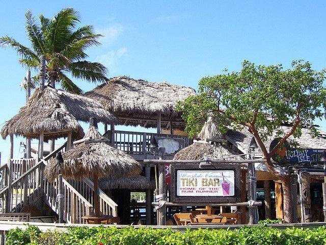 Holiday Isle Tiki Bar Islamorada Fl Music Kokomo Off The