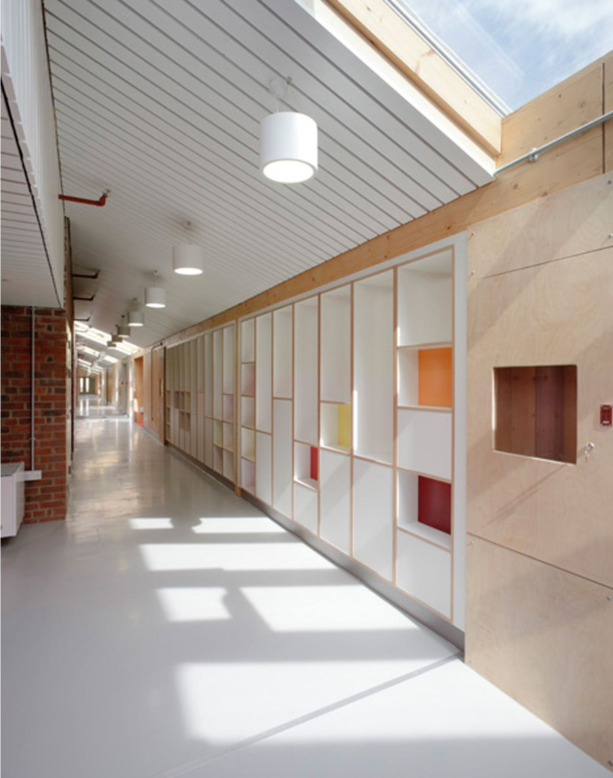 Classroom corridor architecture google search - Architecture and interior design schools ...