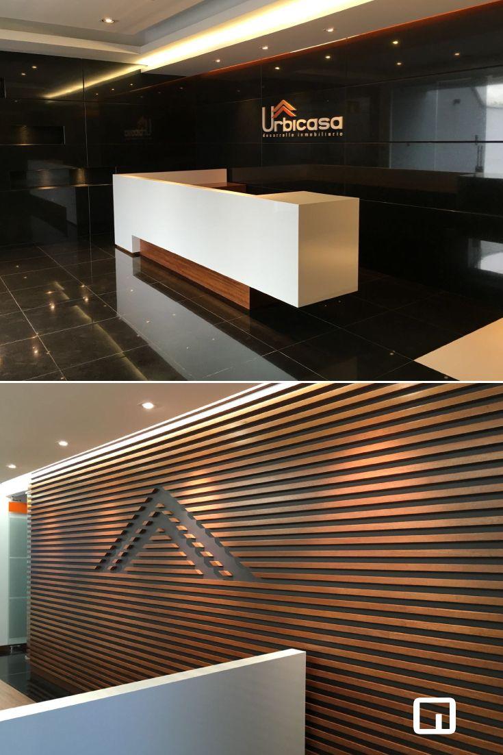 Remodelaci n oficinas trabajo con paneler a de madera for Remodelacion oficinas