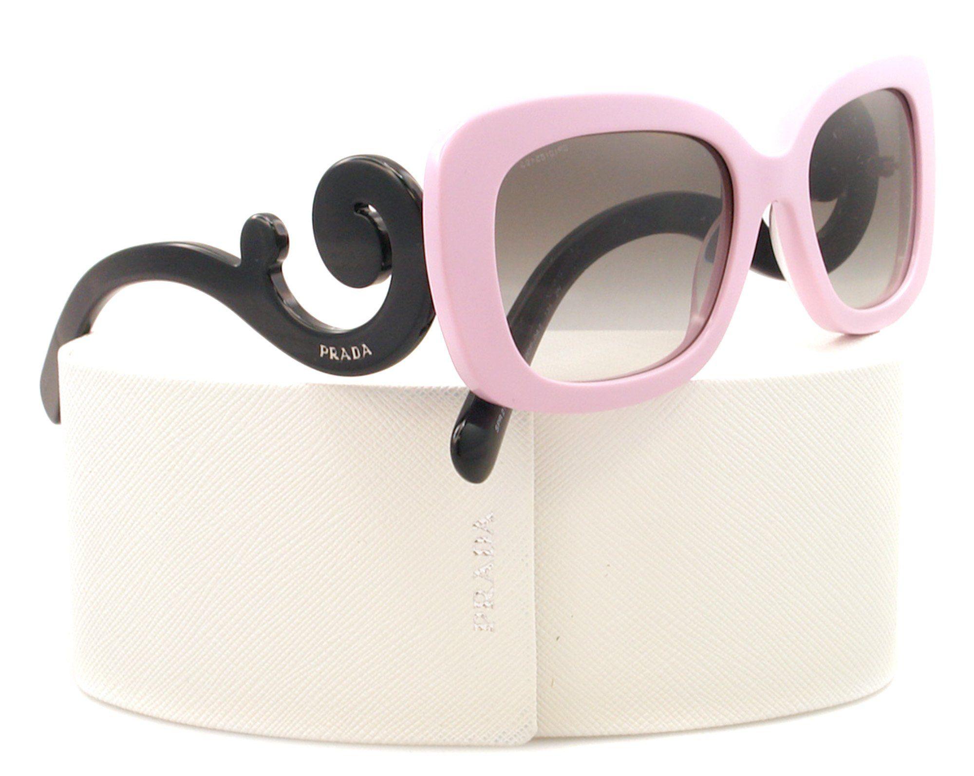 672ef95e277 Amazon.com  Prada Sunglasses SPR 27O Pink PDP-0A7 PR27OS  Prada  Clothing