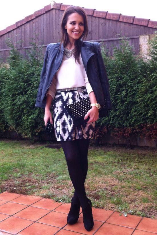 00013c7f3d Geometric Skirt