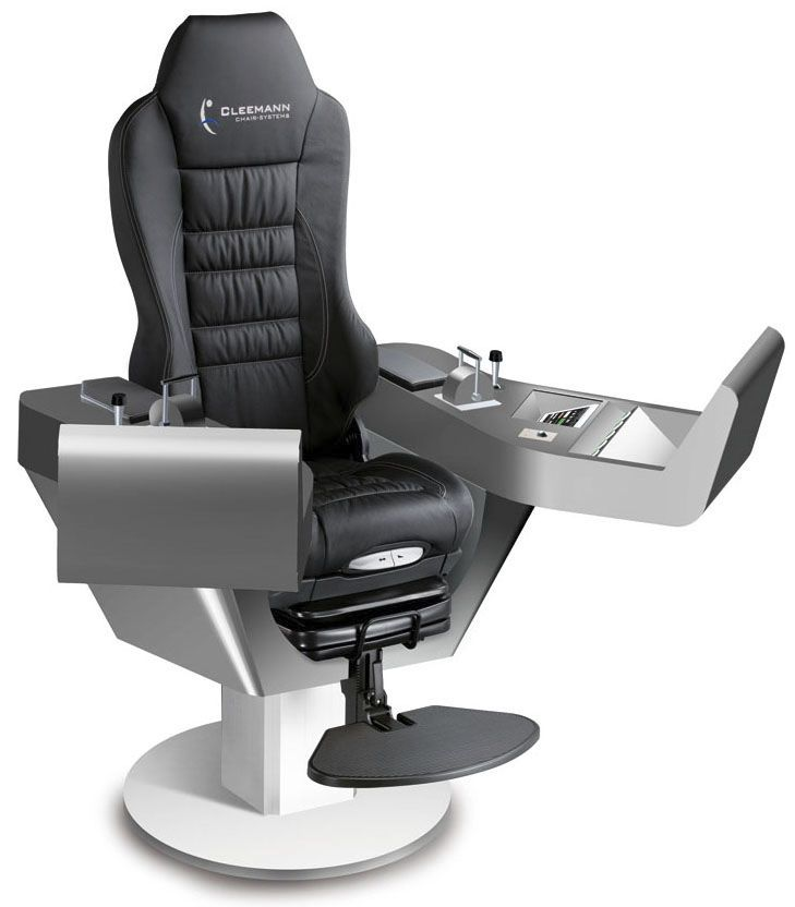Ship Seat Helm With Built In Pilot Console Commander Xxl