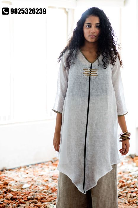 01fb1bead7 Beat the heat with contemporary linen clothing by KAVERI
