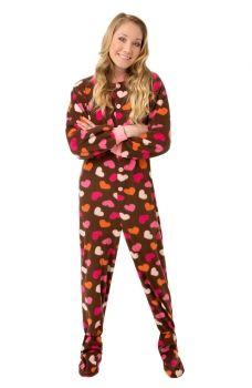 1919395143 Big Feet Pajamas Chocolate