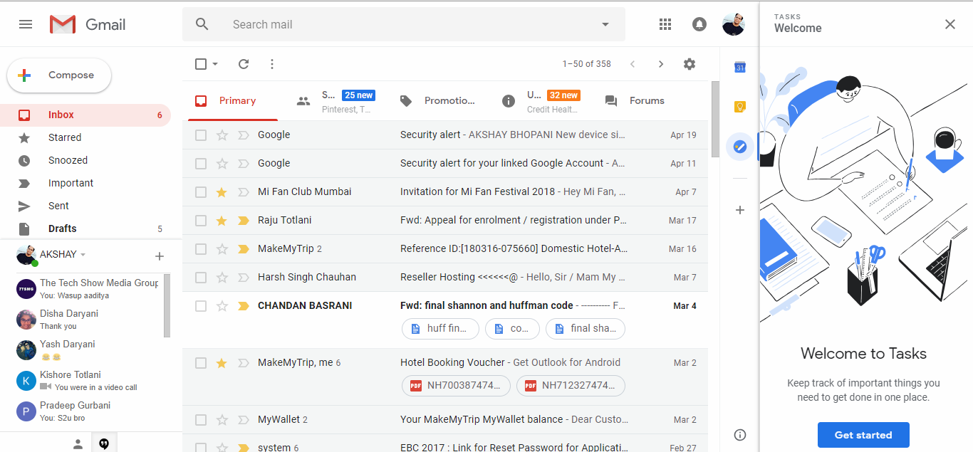 Meet The New Gmail Desktop (With images) Gmail, Google