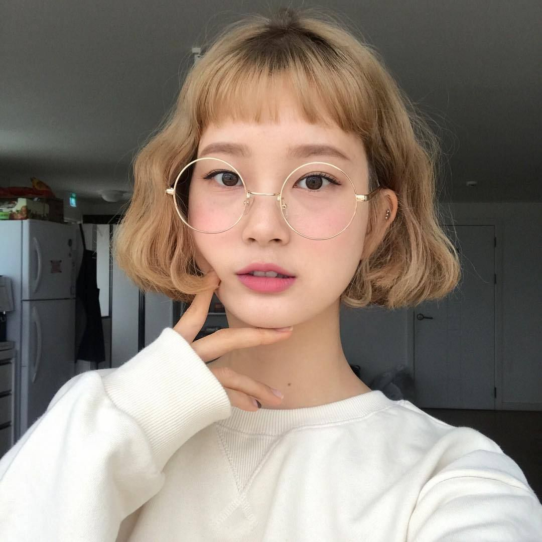 ulzzang | Tumblr | Ulzzang hair, Korean short hair, Permed hairstyles