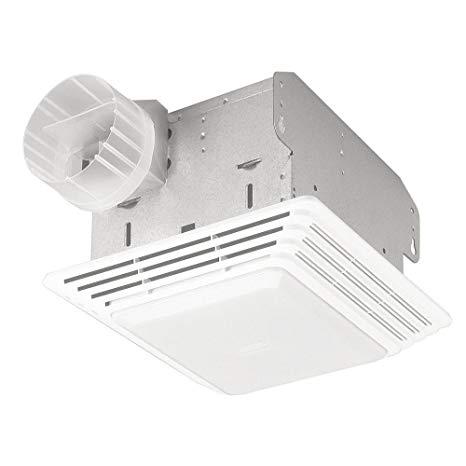 Broan Nutone 678 Ventilation Fan And Light Combination 50 Cfm 2 5 Sones Built In Household Ventila With Images Bathroom Exhaust Fan Ventilation Fan Ceiling Fan Bathroom