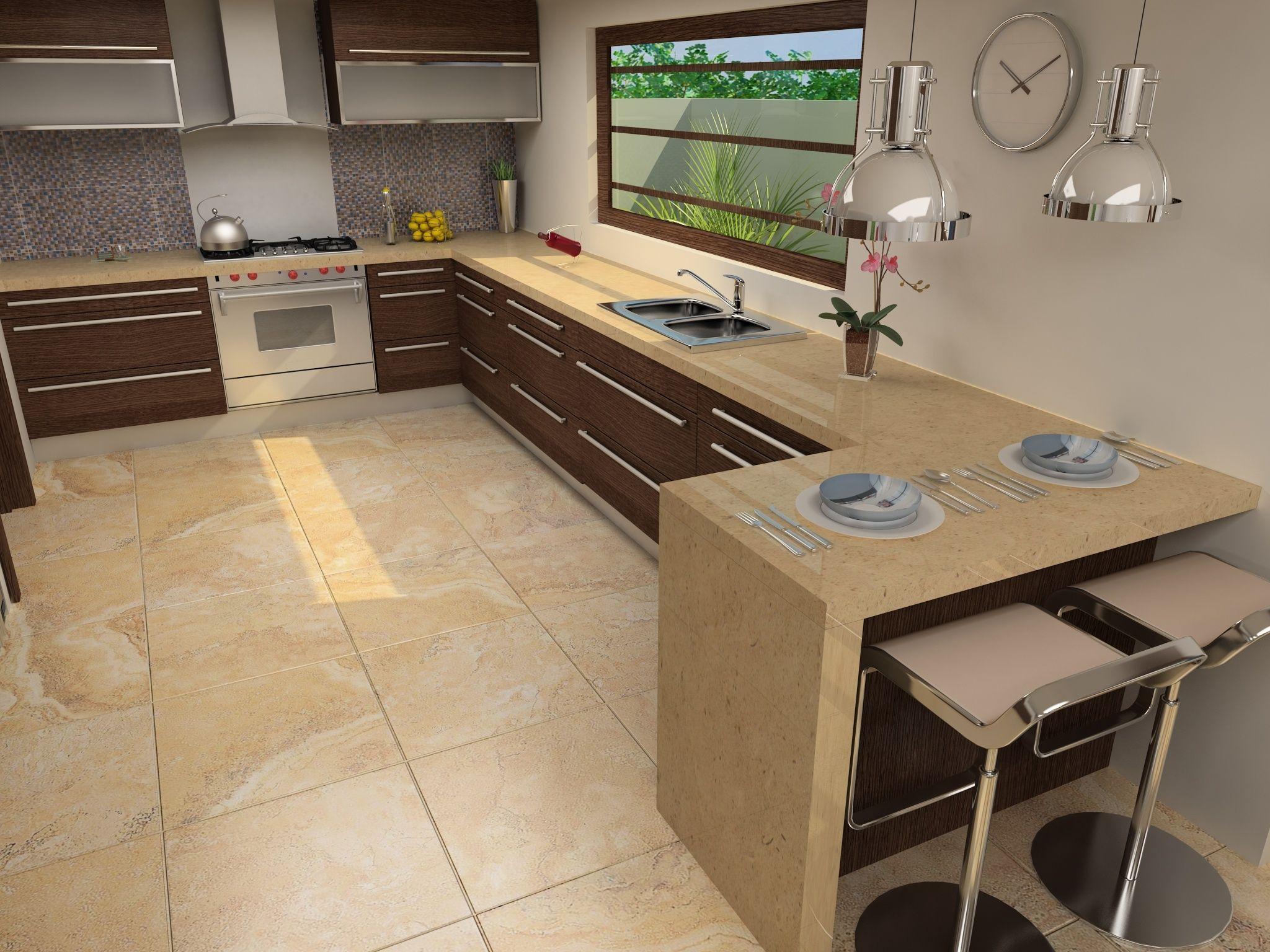 Prepara comida rica en una cocina nica con interceramic for Azulejos para cocina interceramic