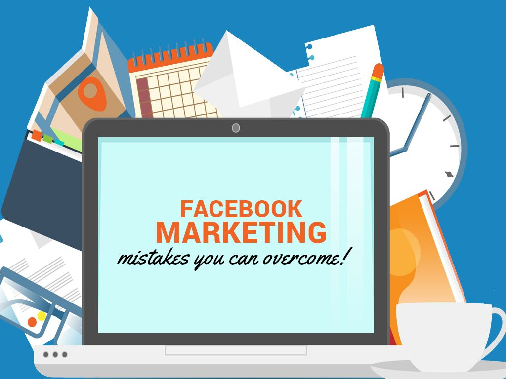 Facebook Marketing mistakes you can overcome! by Rebekah Radice